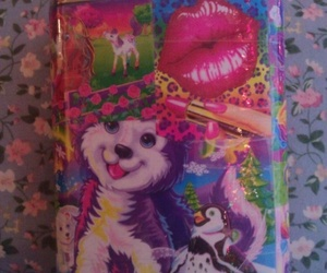 colorful, lisa frank, and pastel image