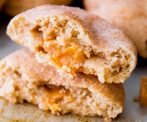 caramel, snickerdoodle, and Cookies image