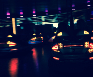 bumper cars, fun, and cute image