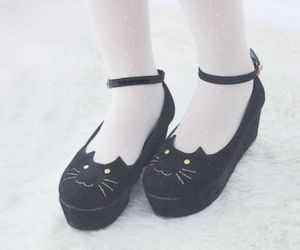 shoes, cute, and black image