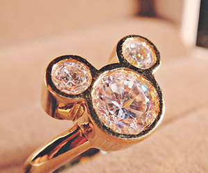 bague, disney, and luxe image