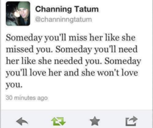 love, channing tatum, and quote image