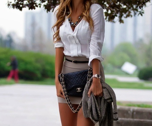 chanel, girl, and clothes image
