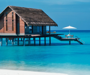 beach, luxury, and photography image
