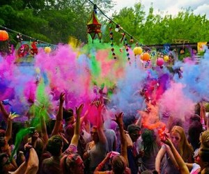 party, colour, and colourful image