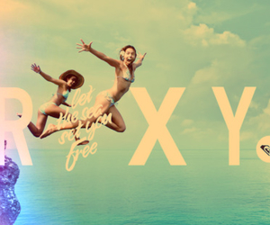 roxy, surf, and summer image