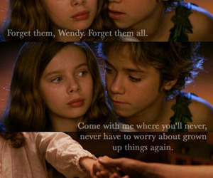 peter pan, wendy, and neverland image