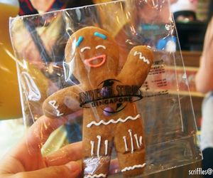 christmas, cookie, and gingerbread man image