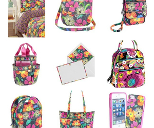 Collage, floral, and vera bradley image