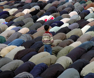 muslim prayer image