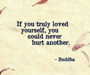 quotes, Buddha, and hurt image