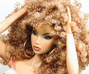 barbie, curly, and frizzy image