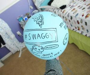 balloon, tumblr, and swag image