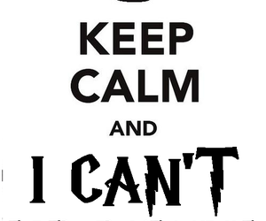 keep calm, hp7, and fuck it image