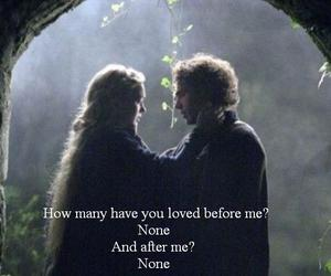 couple, james franco, and tristan and isolde image
