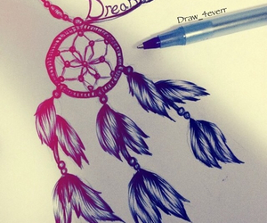 beautiful and dream catcher image