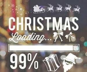 christmas, coming, and 99% image