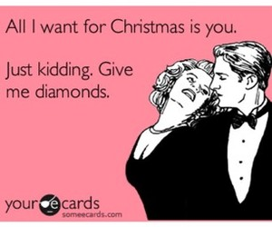 christmas, diamonds, and text image
