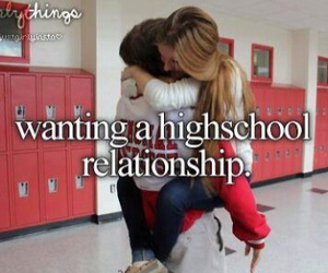 love, Relationship, and highschool image
