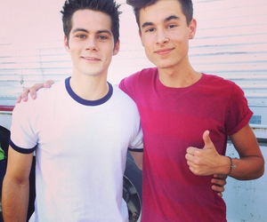 kian lawley, dylan o'brien, and teen wolf image