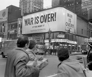 war is over image
