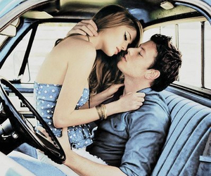 car, couple, and Hot image
