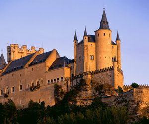 castle and spain image