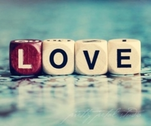 love, dice, and quotes image