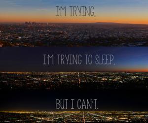 sleep, night, and quote image