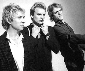 the police, sting, and stewart copeland image