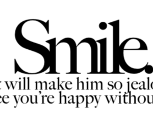 smile, jealous, and text image