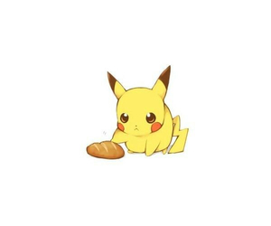 bread, pikachu, and pokemon image