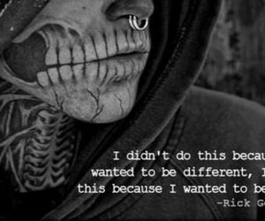 rick genest, tattoo, and different image