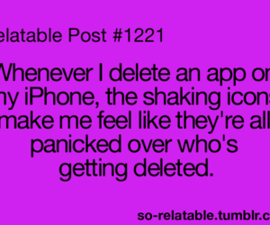 iphone, teenager post, and delete image