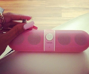 beats, music, and pink image