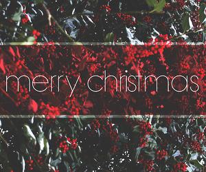 christmas, merry christmas, and red image