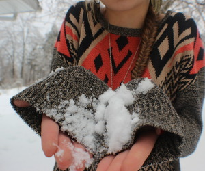 snow, fishtail, and tumblr image