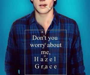 book, augustus waters, and the fault in our stars image