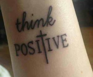 tattoo, positive, and think image