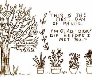 glad, illustration, and plants image