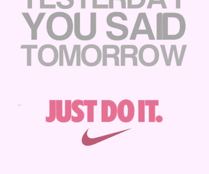 motivation, nike, and fitness image