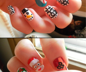 christmas, decoration, and nails image