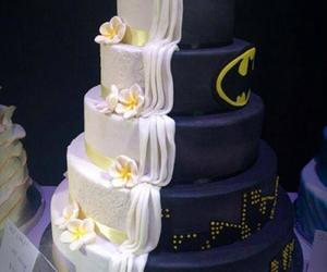 batman, black, and cake image