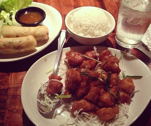 chinese food, drinks, and food image