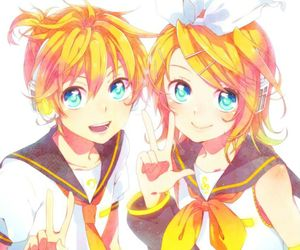 vocaloid, anime, and blond image