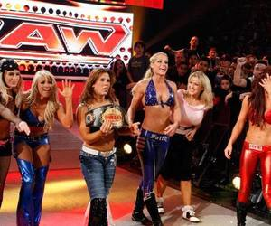cherry, mickie james, and michelle mccool image