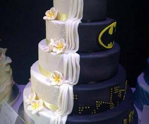 batman, cake, and marriage image