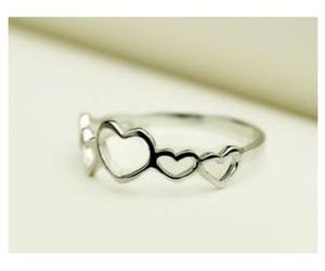 heart, ring, and gift image