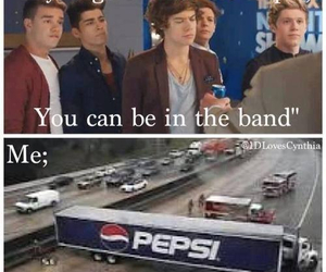 Pepsi, Harry Styles, and one direction image