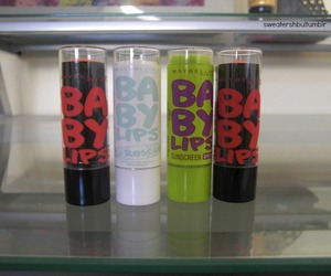 baby lips, cosmetics, and lipstick image